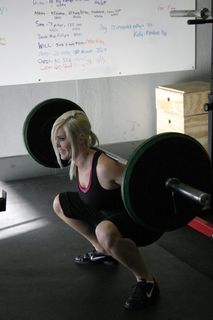 Bethany.squat north scottsdale crossfit